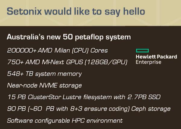 Setnoix Supercomputer To Be Powered by AMD's Next-Gen Instinct MI200 128 GB GPUs & AMD EPYC Milan CPUs 1