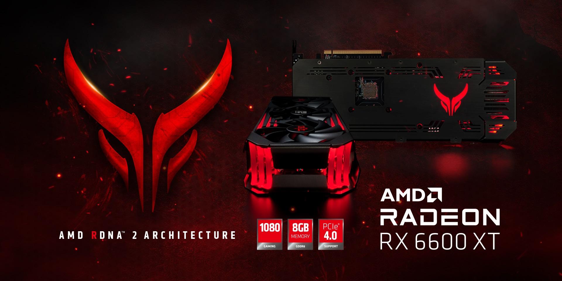 PowerColor Files Radeon RX 6600 series to EEC