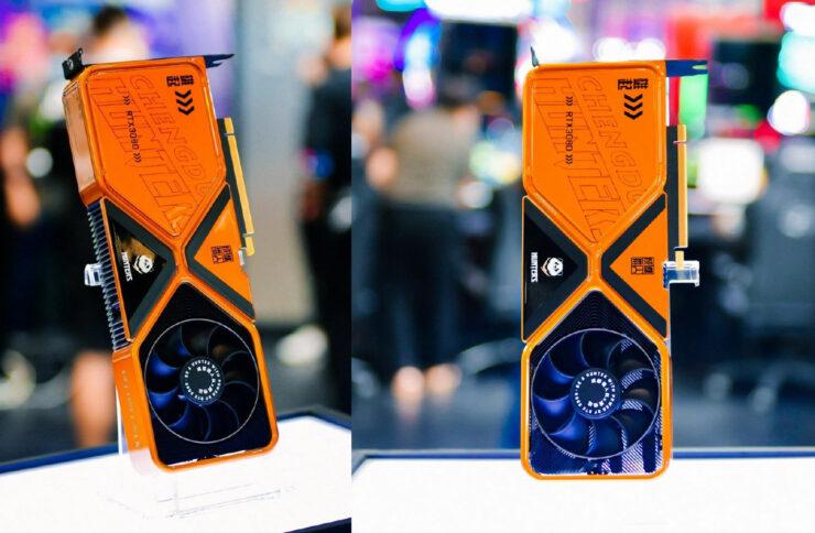 Custom NVIDIA RTX 3080 Founders Edition Showcased at Bilibili World 2021