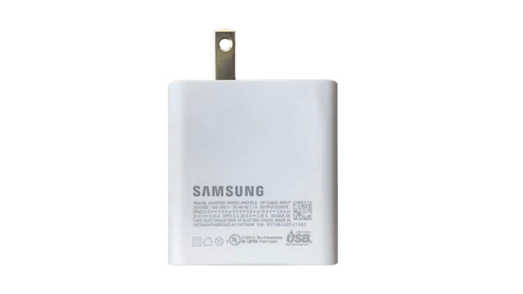 Samsung's 65W Charger Gets Certified - Supports Lower Wattages, Likely to Accommodate Galaxy S22's Adaptive Charging