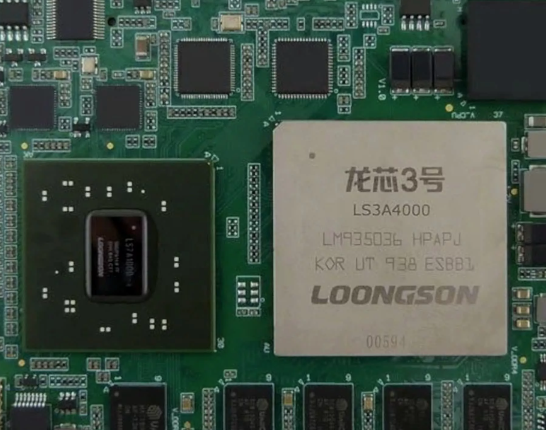 Chinese-Built Loongson CPU Just As Fast AMD's Original Ryzen Chips