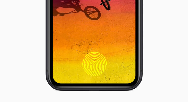 Touch ID in iPhone Power Button title