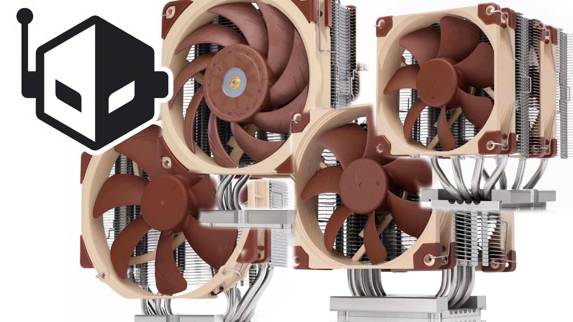 Noctua Announces New CPU Coolers for Intel's LGA4189 Xeon Platform