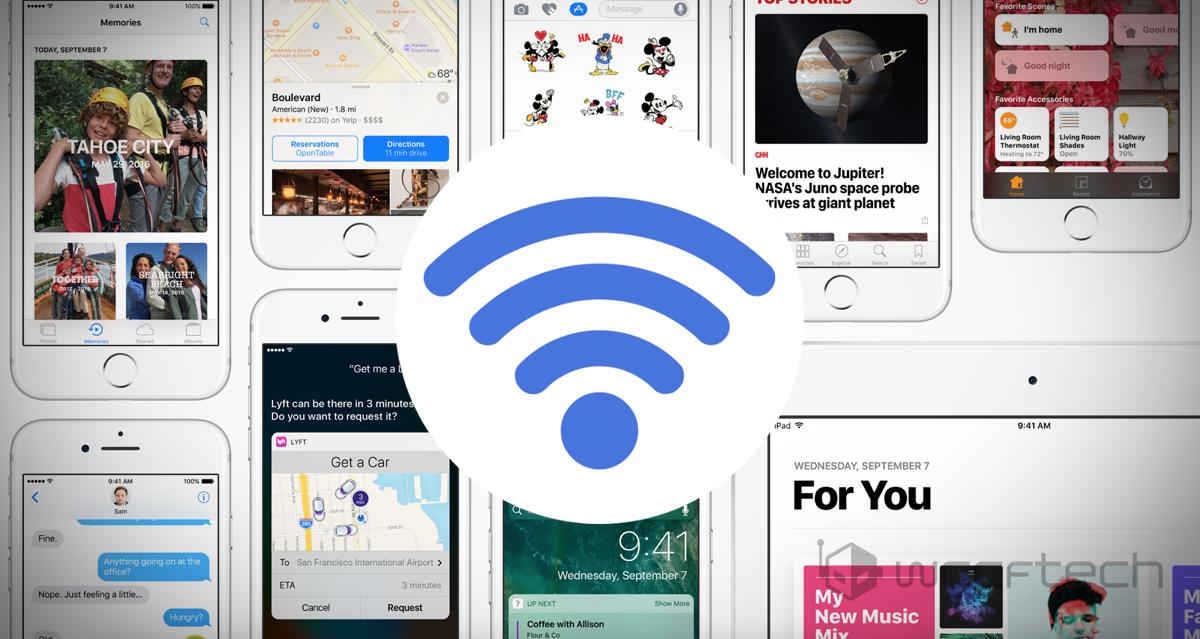 iOS 14.7 Wi-Fi Bug Fixed