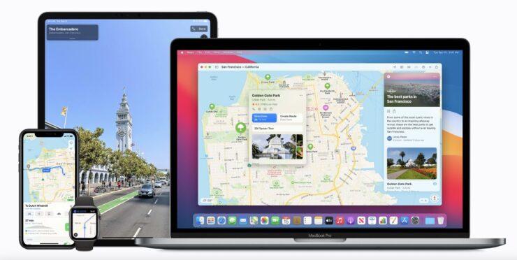 Apple Maps Warnings