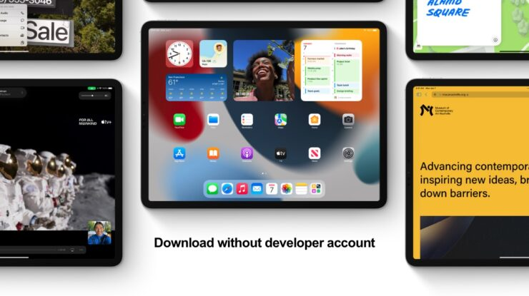 Download and install iOS 15 beta 3 without a developer account