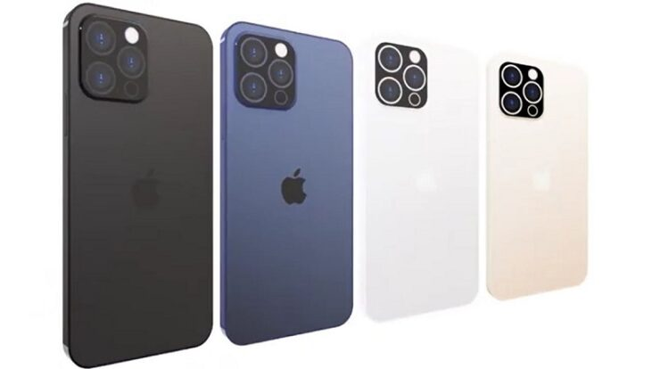 iPhone 13 Pro Color Options Sunset Gold and Matte Black