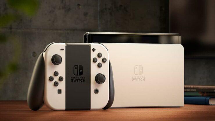 new nintendo switch oled