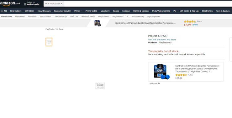 project ps5 ea