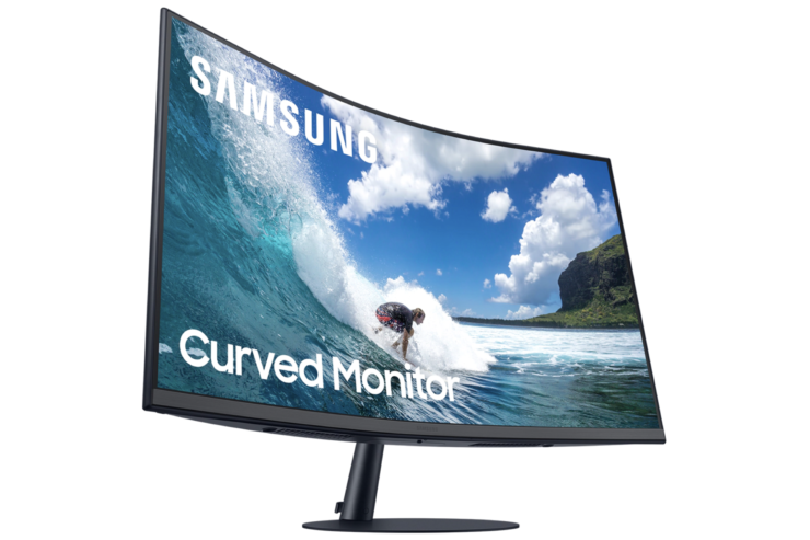 samsung t55 curved monitor
