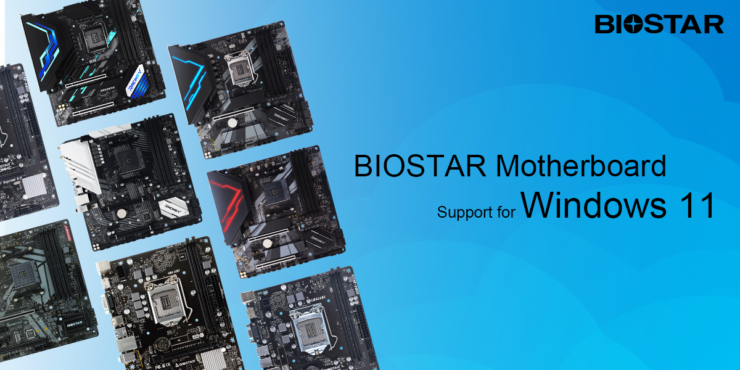 BIOSTAR Lists Down Motherboards Supporting Windows 11 - All AMD Ryzen Platforms Ready, Intel Limited To 500-Series