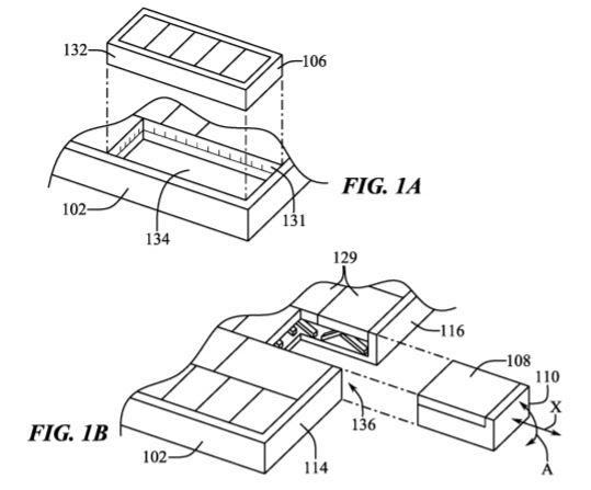 Apple Patent Keys of MacBook as a Mouse