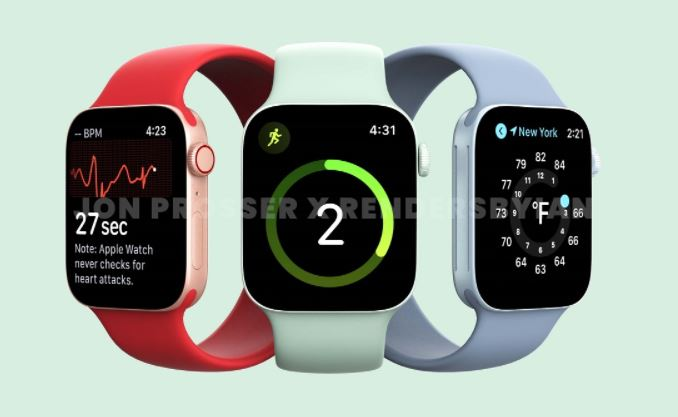 Apple Watch Series 7 launch and features