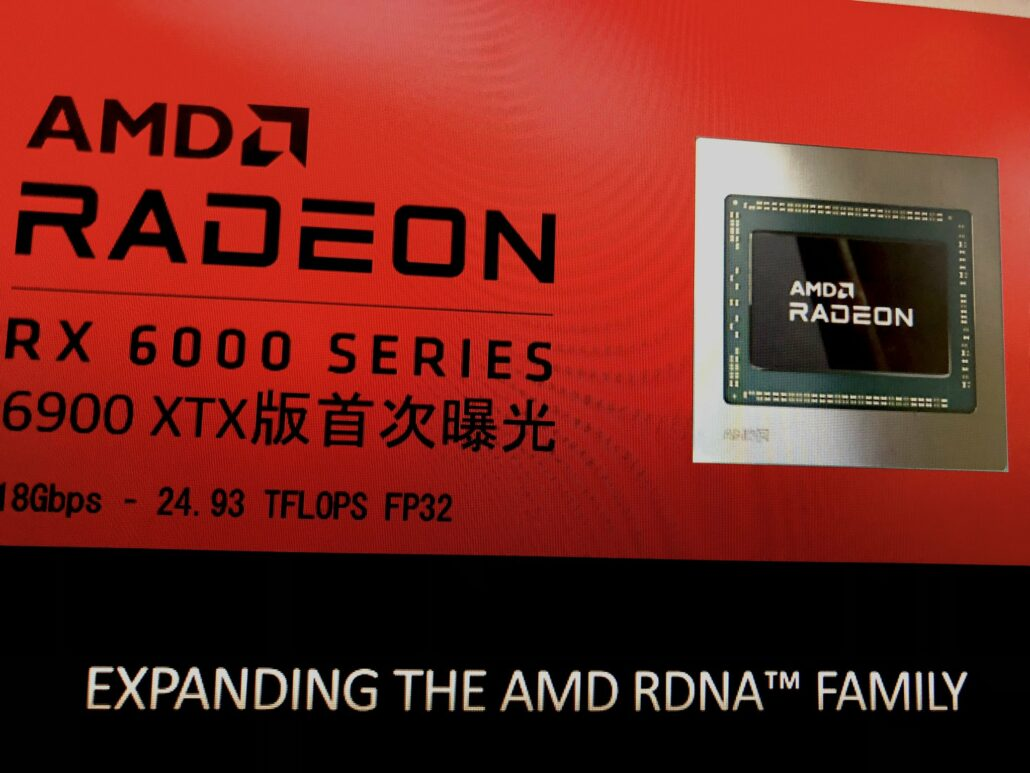 AMD Radeon RX 6900 XTX Graphics Card RDNA 2 Navi 21 GPU Rumor