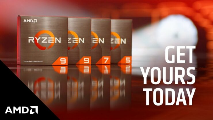 AMD Ryzen 5000 Desktop CPUs On Discount Across Important US Suppliers - 5900X For $499, 5800X For $393, 5600X For $272