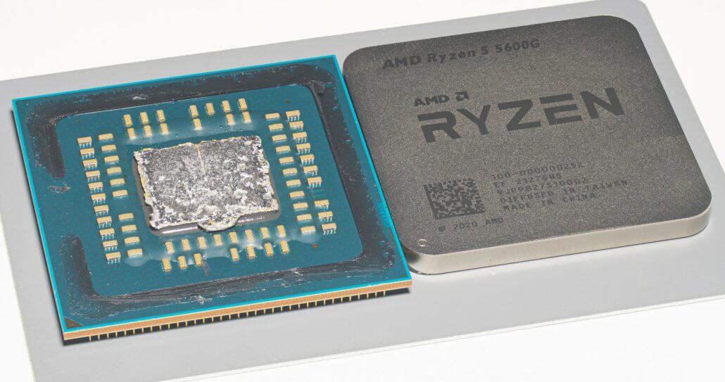 AMD's Ryzen 5000G 'Cezanne' Desktop APU has received its first high-res die shots, courtesy of Fritzchens Fritz