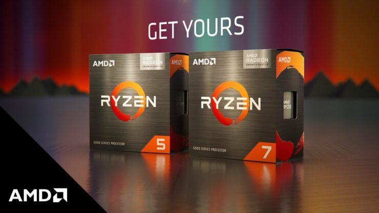 AMD Ryzen 5000G Desktop APUs _ Ryzen 7 5700G & Ryzen 5 5600G