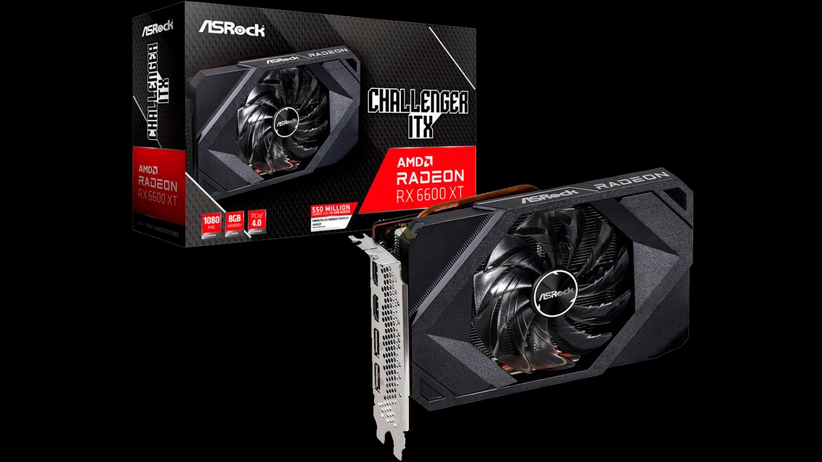 ASRock Intros The First Mini-ITX Graphics Card Powered by RDNA 2, The Radeon RX 6600 XT Challenger ITX