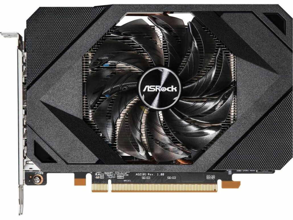 ASRock Radeon RX 6600 XT Challenger ITX is the only Mini-ITX RDNA 2 graphics card to release so far. (Image Source: Videocardz)
