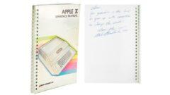 apple-ii-manual-signed-by-steve-jobs