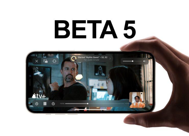You can now download iOS 15 / iPadOS 15 Beta 5