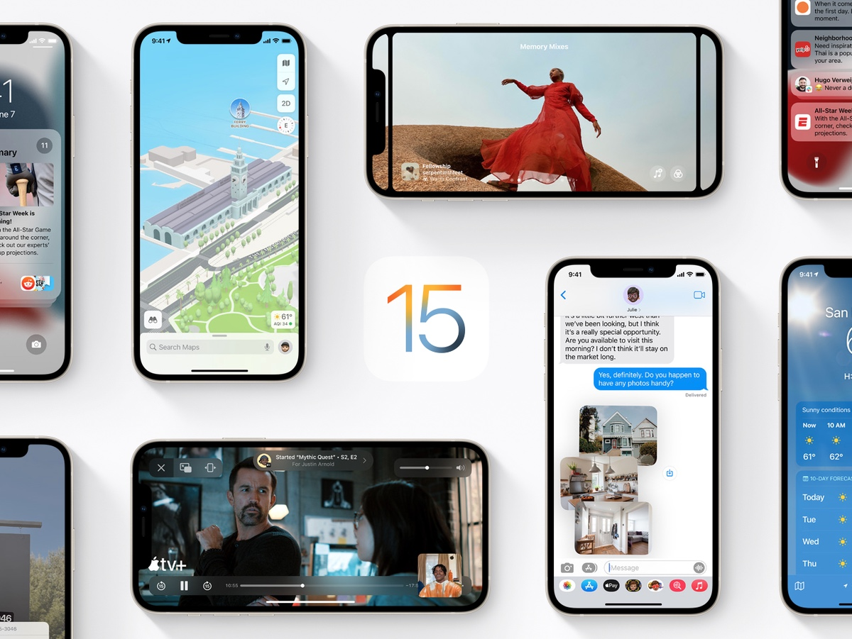 iOS 15 beta 6 now available for download