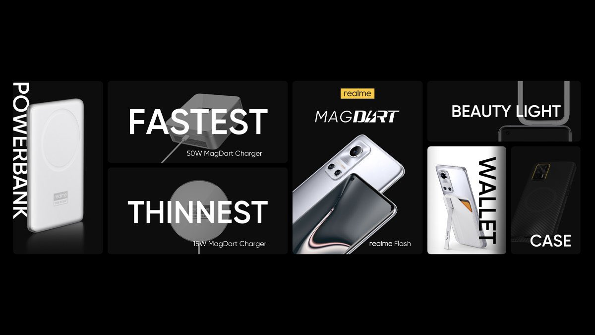 Realme is Working on a MagSafe Like Charger Called MagDart