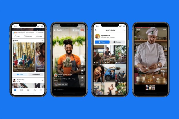 Facebook Reels rolling out in the US