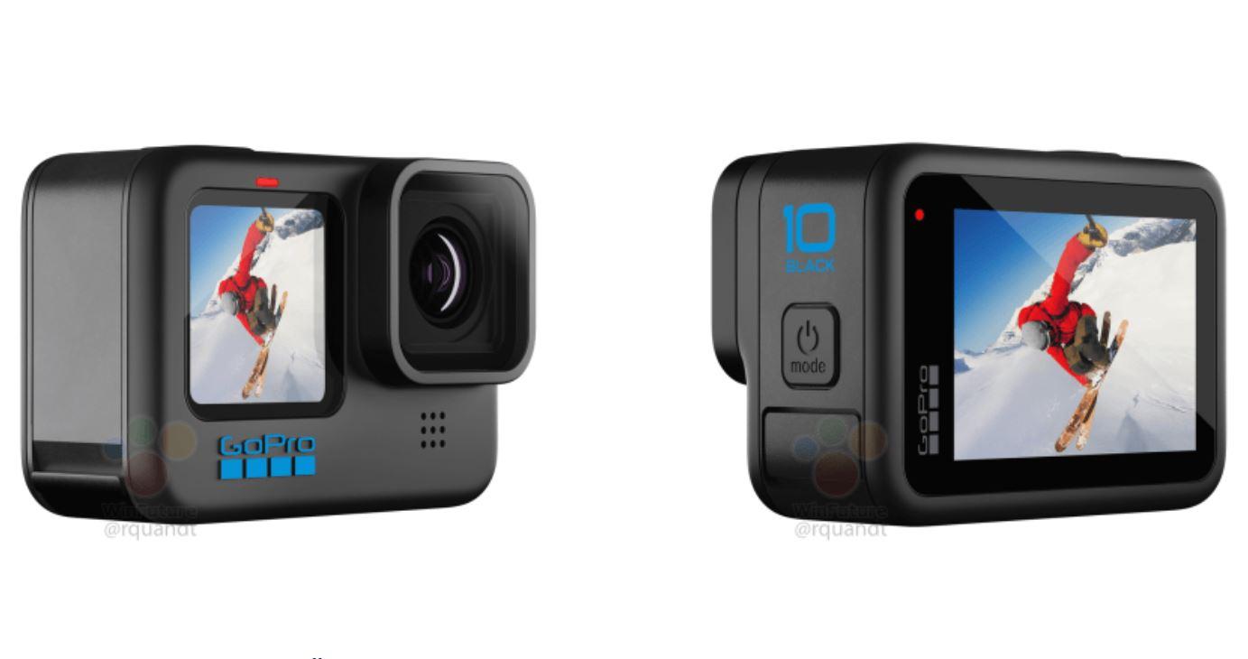 GoPro Hero 10 Black Camera and Processor Leak