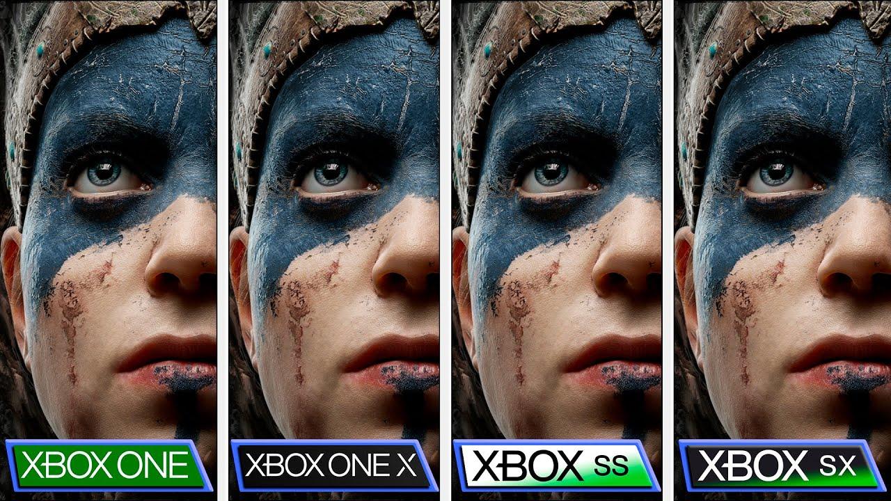 Hellblade Senua's Sacrifice Comparison Xbox One X Series X S