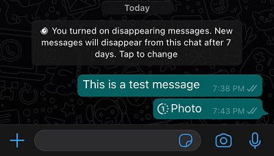 How to enable and send View Once photos and videos on iPhone and Android on WhatsApp