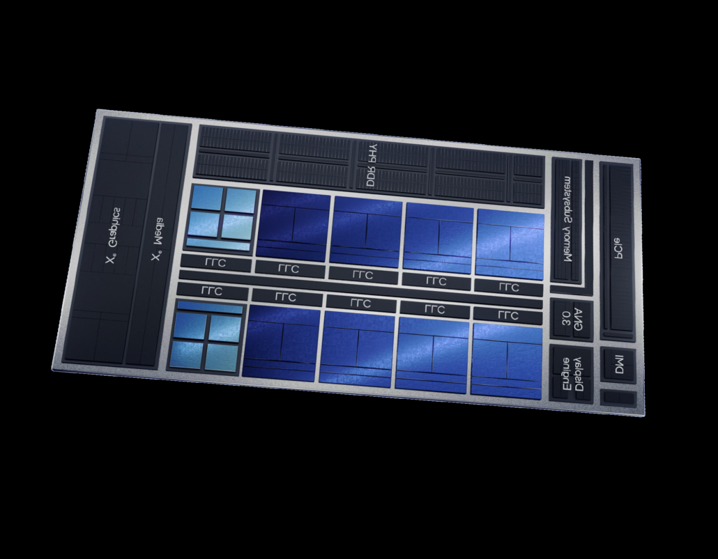 The Intel Alder Lake Desktop CPUs would be made using a cluster of Golden Cove P-Cores and Gracemont E-Cores.