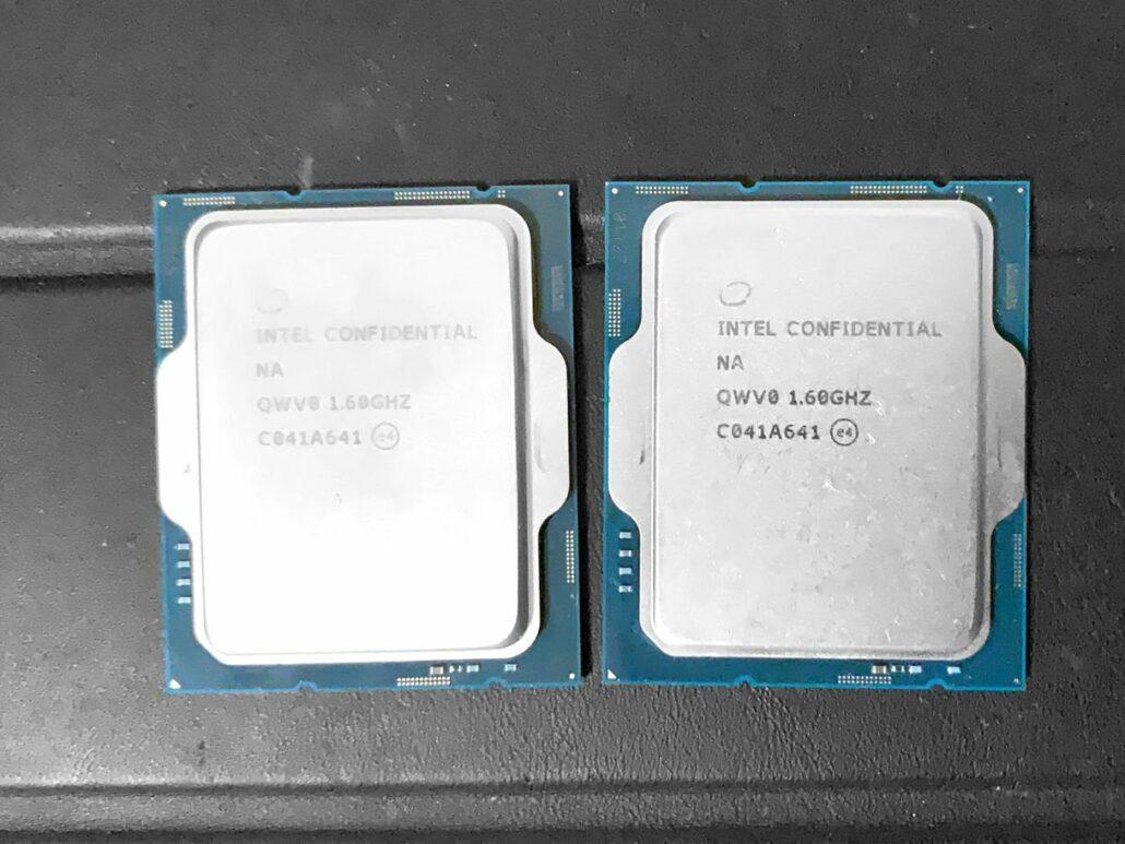 Intel Alder Lake-S 1.6 GHz Desktop CPU Sample QWV0