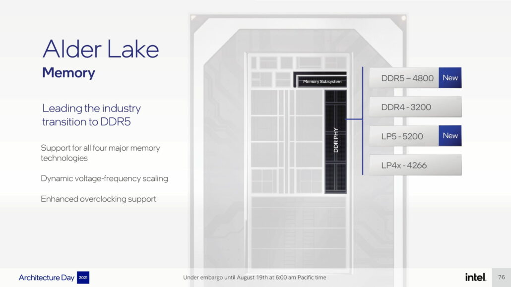 Intel has confirmed that its desktop Alder Lake CPUs will feature both DDR5 and DDR4 memory.