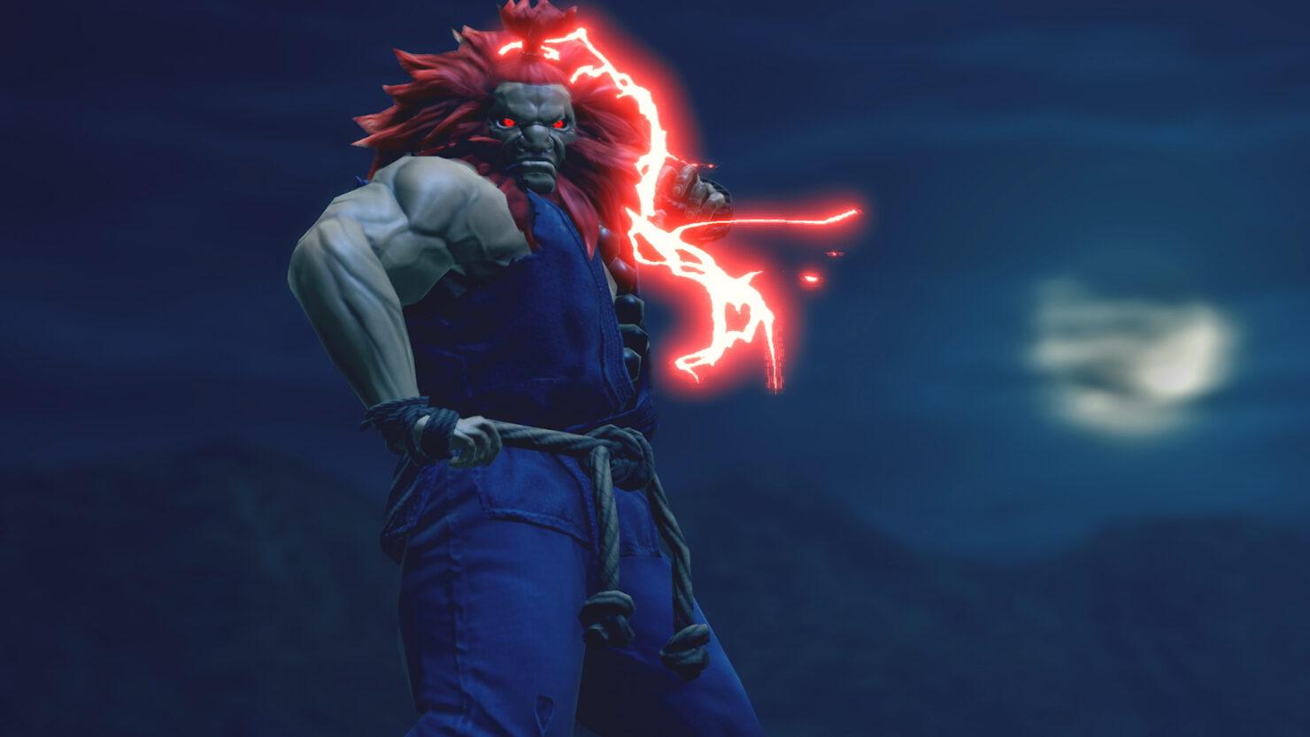 Akuma Street Fighter Monster hunter Rise