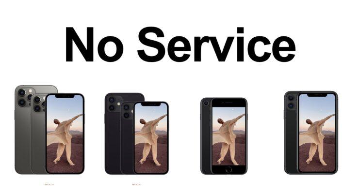 iOS 14.7.1 'No Service' bug