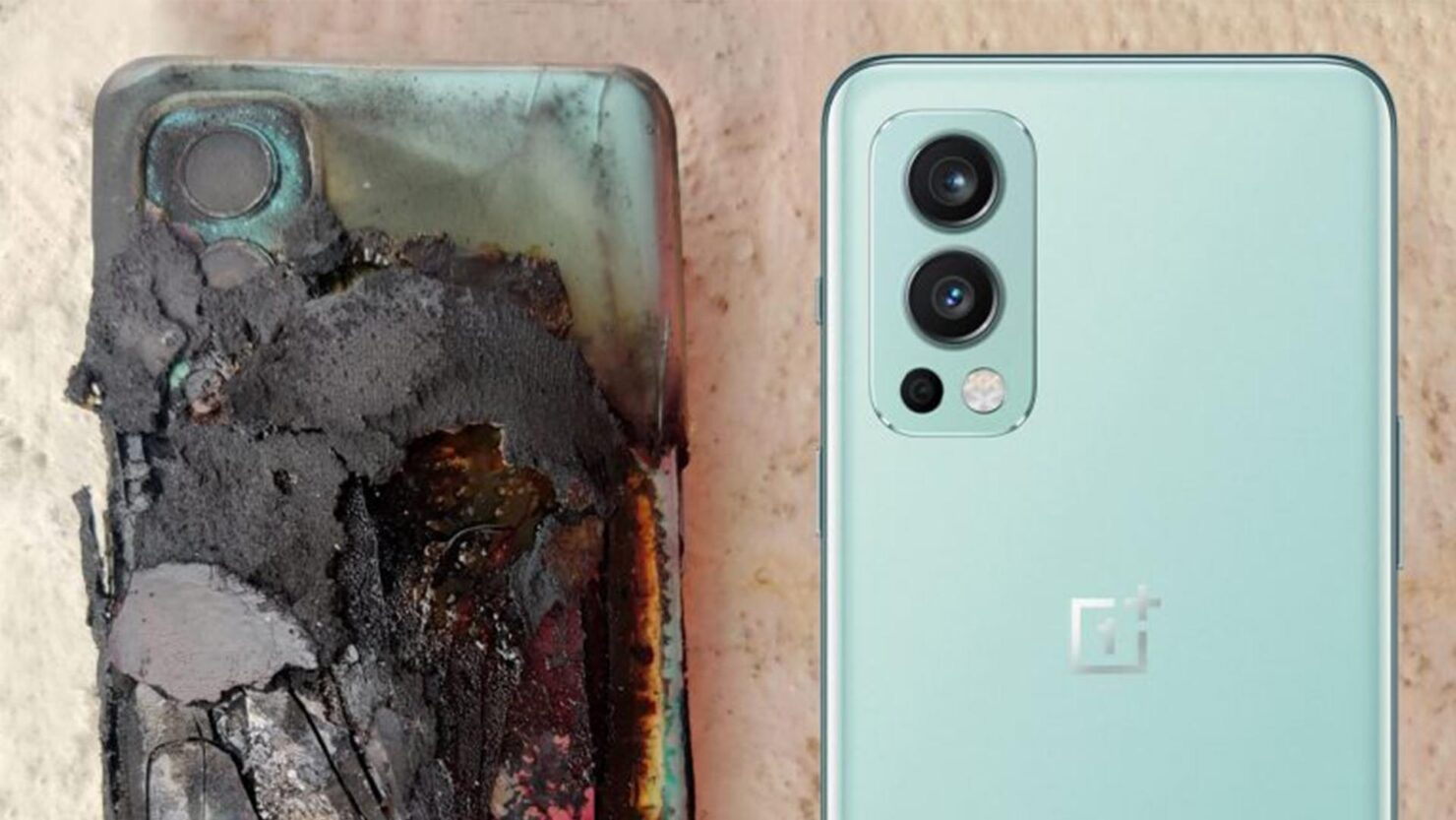 OnePlus Nord 2 Explodes Again, but Victim Thankfully Comes out Unscathed