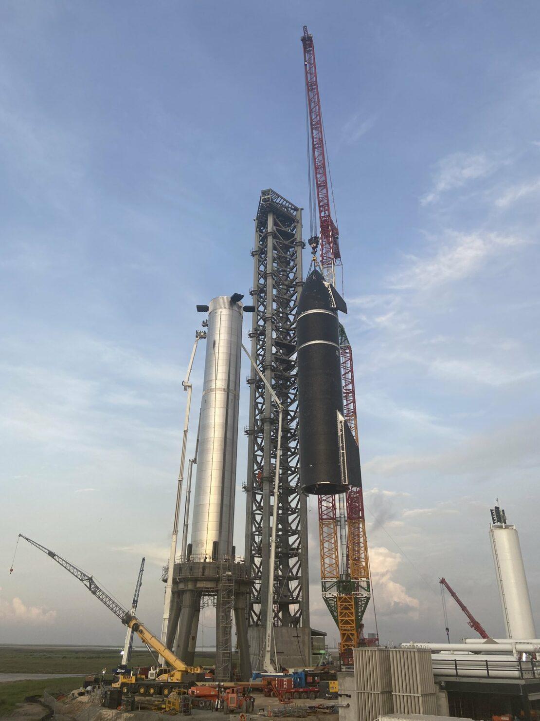 SpaceX Starship Super Heavy heat shield tiles