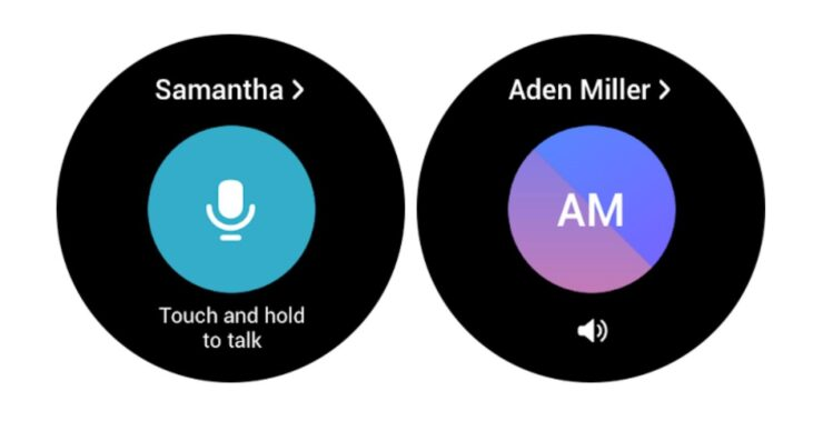 Samsung Walkie Talkie for Galaxy Watch 4