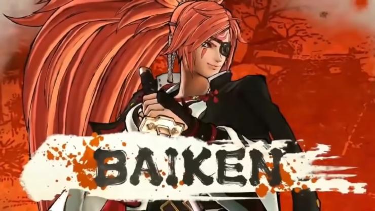 Baiken Guilty Gear Samurai Shodown