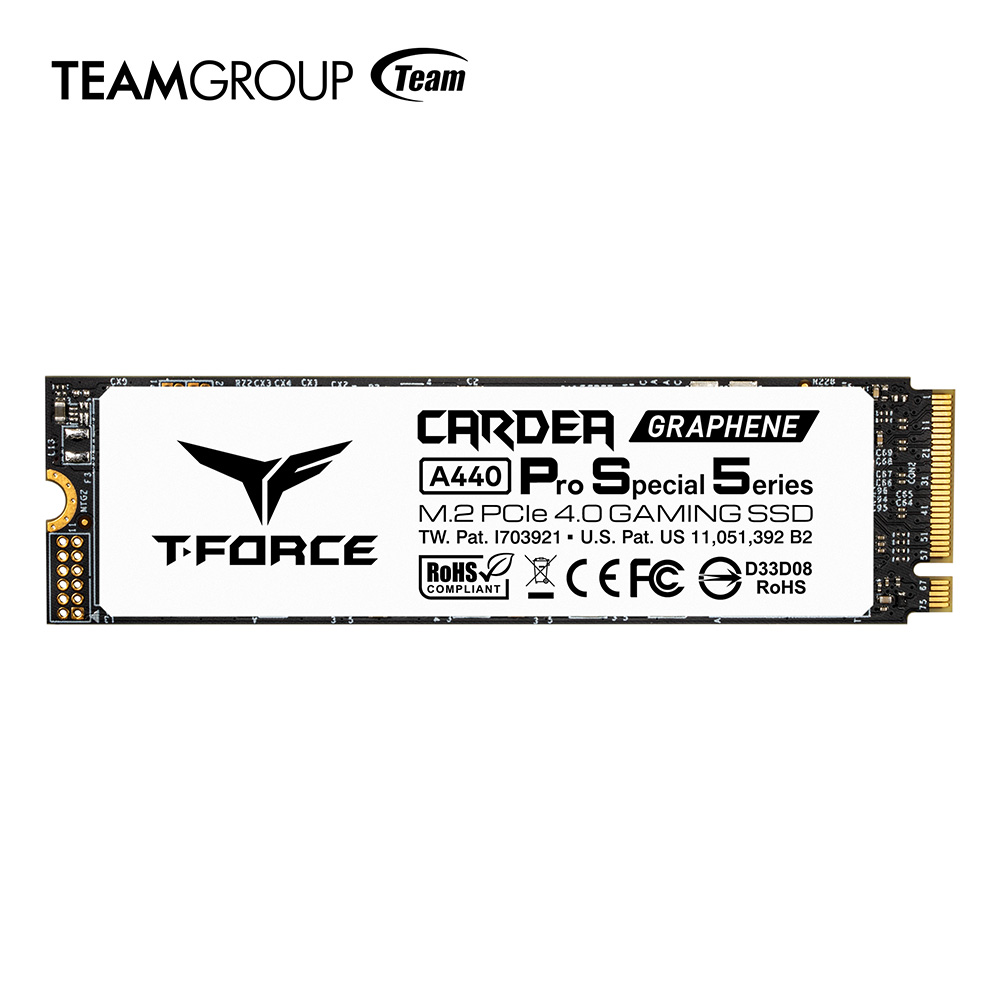 TEAMGROUP Launches T-FORCE CARDEA A440 Pro M.2 SSD for Sony PS5 Consoles