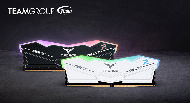 TeamGroup Intros T-Force DELTA RGB DDR5 Gaming Memory, Up To 5600 Mbps Speeds & 32 GB Capacities