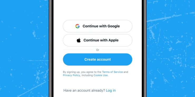 Twitter Sign in With Apple support rolling out now