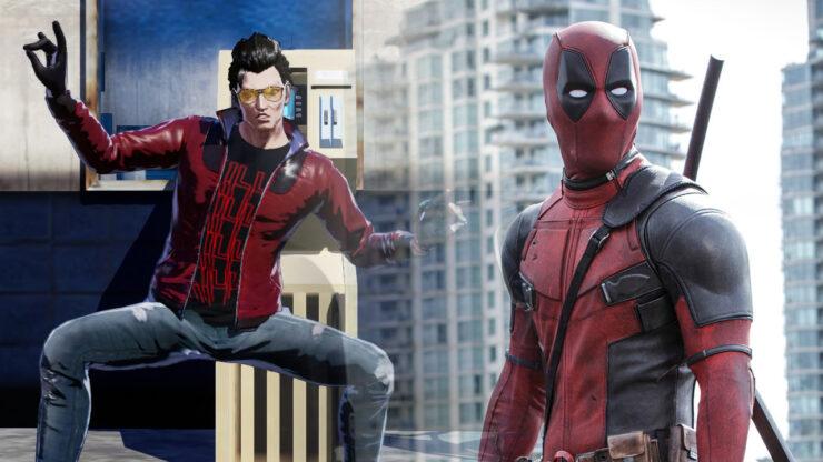 No More Heroes Suda51 Deadpool