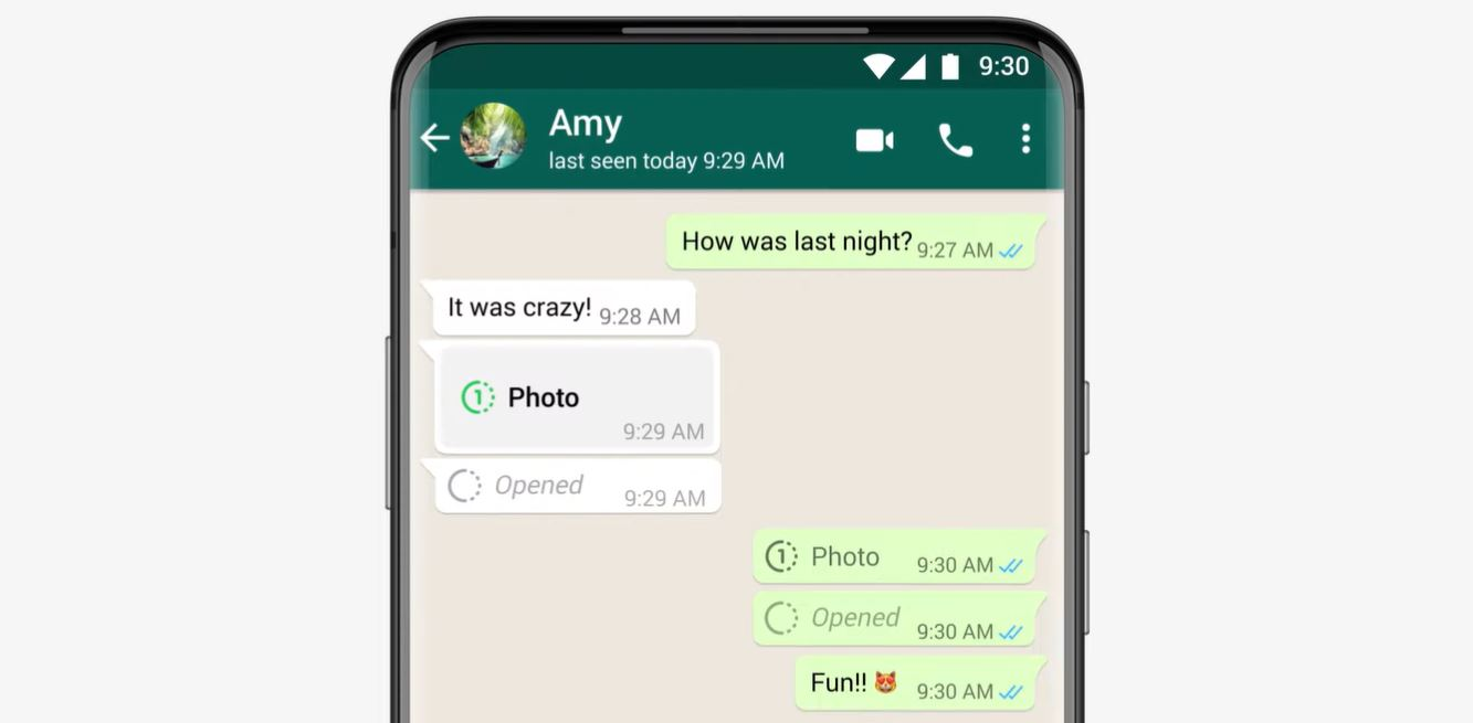Send View Once Photos and Videos on WhatsApp
