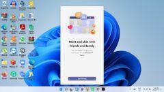 Windows 11 Chat App Taskbar Icon