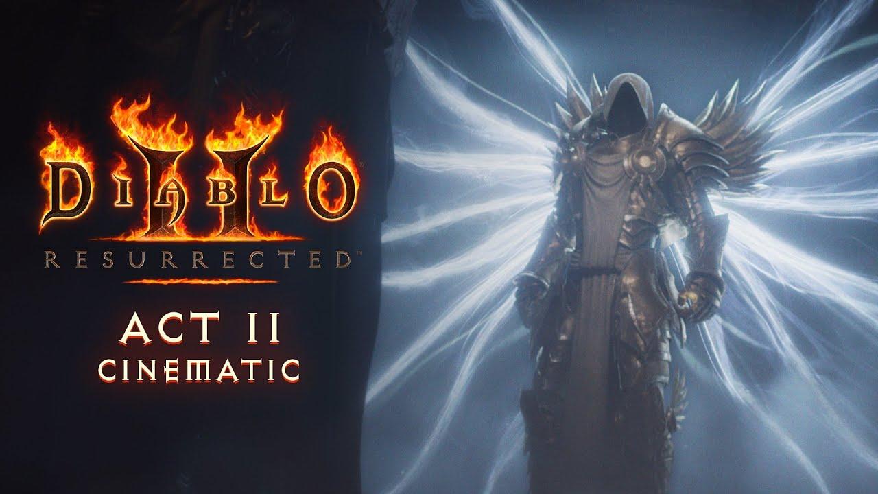 diablo II resurrected cinematics act I II