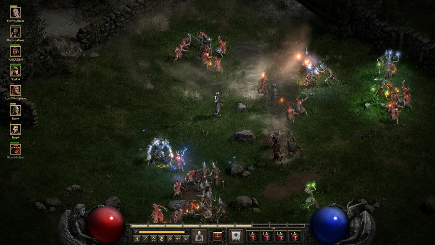 diablo II resurrected tcp ip multiplayer