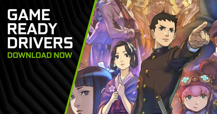NVIDIA Great Ace Attorney Chronicles