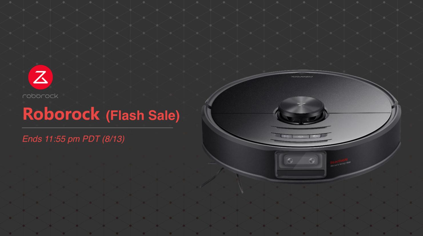 roborock flash sale